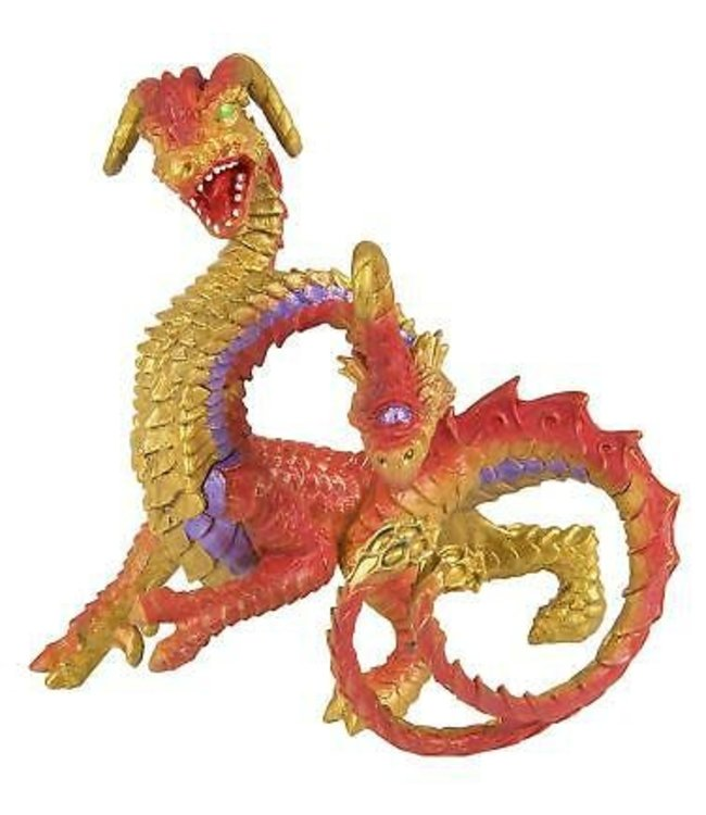 Safari Two Headed Dragon - draak 4+