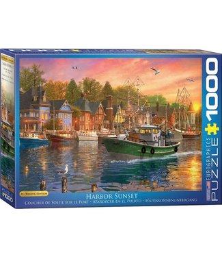 Eurographics Eurographics Harbor Sunset 1000 stukjes