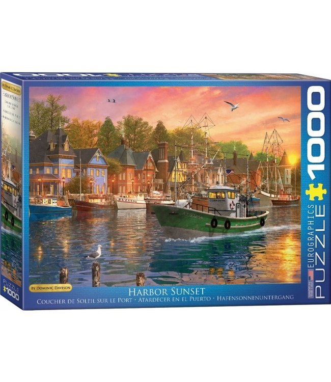 Eurographics Harbor Sunset 1000 stukjes