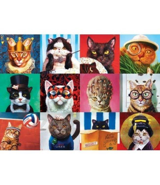 Eurographics Funny Cats - Lucia Heffernan 1000 stukjes