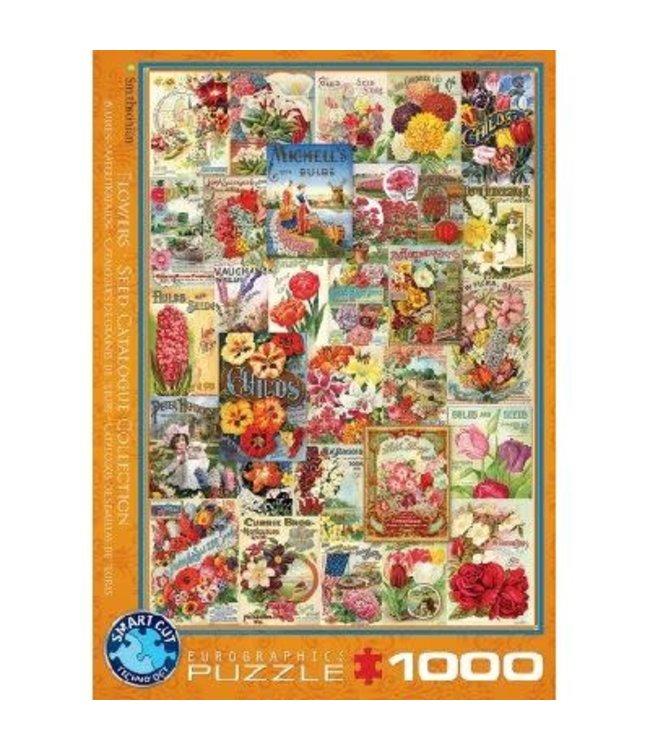 Eurographics Flower Seed Catalog Covers 1000 stukjes