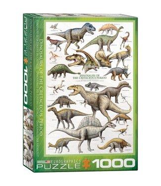 Eurographics Eurographics Dinosaurs of the Cretaceous 1000 stukjes