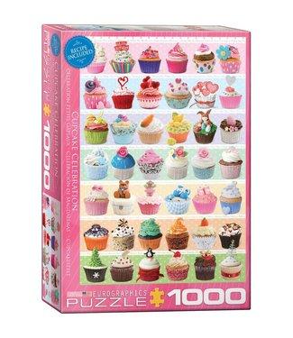 Eurographics Eurographics Cupcake Celebration 1000 stukjes
