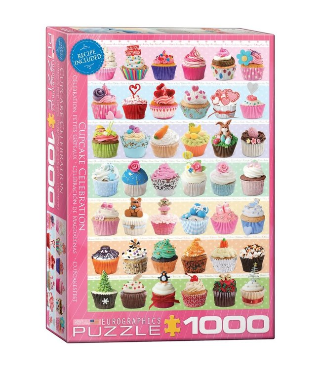 Eurographics Cupcake Celebration 1000 stukjes