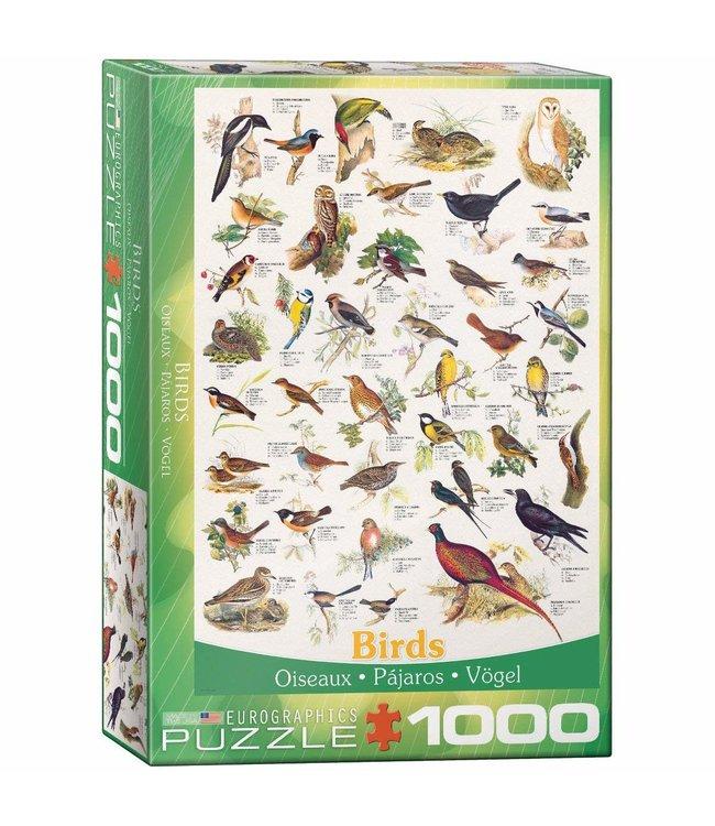 Eurographics Birds 1000 stukjes