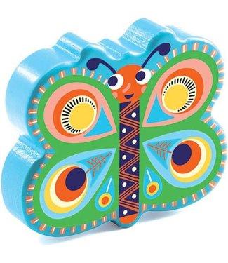 Djeco Djeco Wooden Maracas Papillon