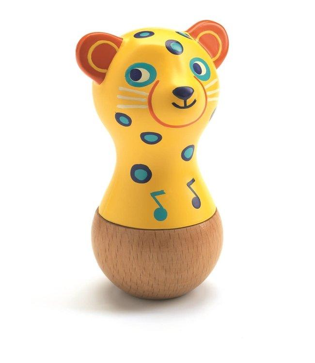 Djeco   Animambo   Wooden Maracas   Jaguar   1+
