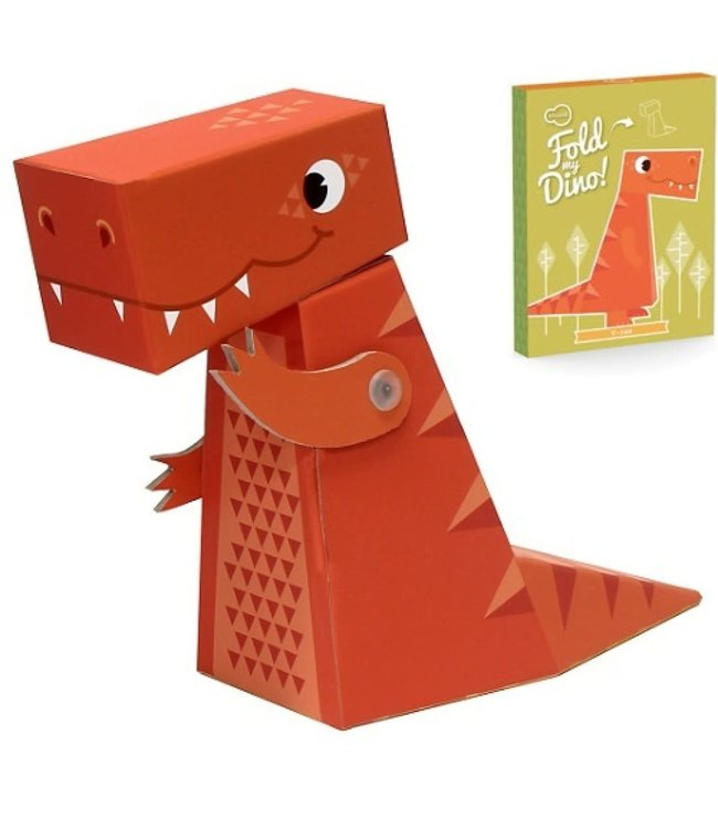 Krooom  Fold My Dino 3D Dino T-Rex  3+