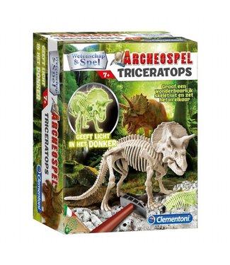 Clementoni Clementoni | Wetenschap en Spel | Archeospel | Triceratops | Fluo | 7+