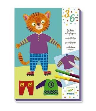 Djeco Djeco | Magische Viltstiften | Elliot en Zoe | 3-6 jaar