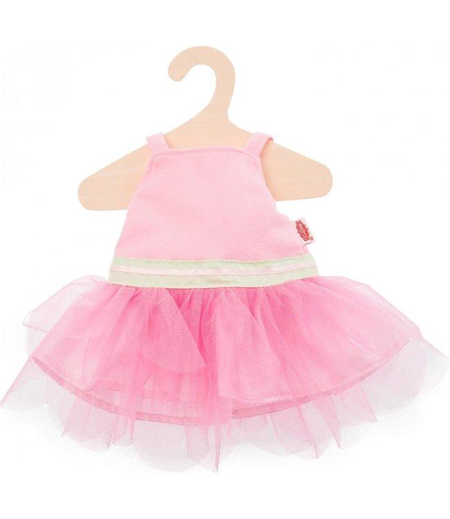 Heless Poppenkleding Roze Ballerinajurk Maat 28-33 cm