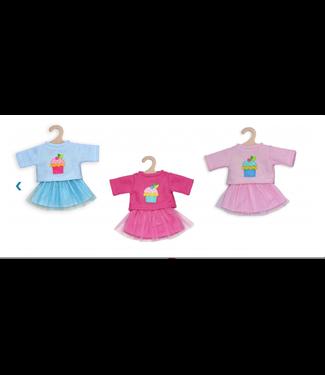 Heless Heless Poppenkleding Rok met Pullover maat 28-35 cm