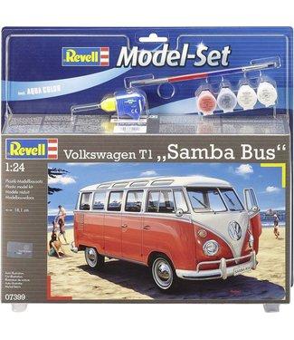 Revell Revell Model Set VW T1 Samba Bus 1:24   8+