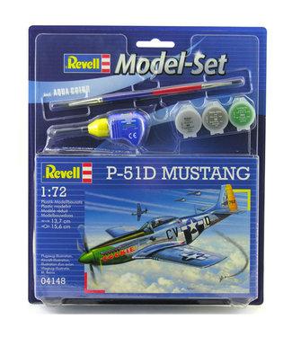 Revell Revell Model Set P-51D Mustang 1:72  8+