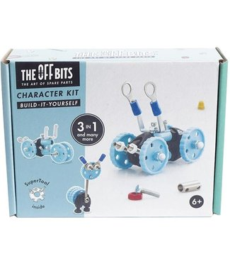 Offbit Offbits Vehicle Kit 3-in-1 Blauw Voertuig  6+