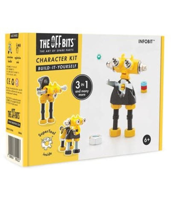 Offbits Character Kit 3-in-1 Infobit  6+