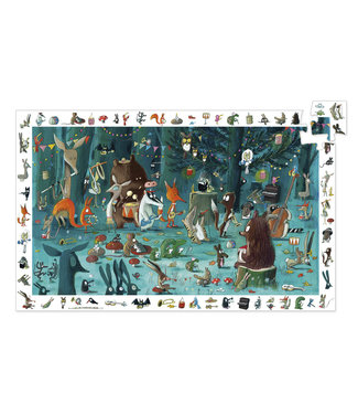 Djeco Djeco Observation Puzzle The Orchestra 35 pcs 3+