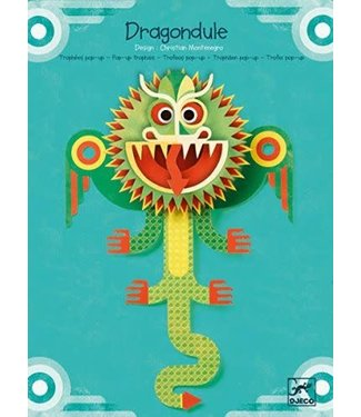 Djeco Djeco Pop-up Board Dragondule