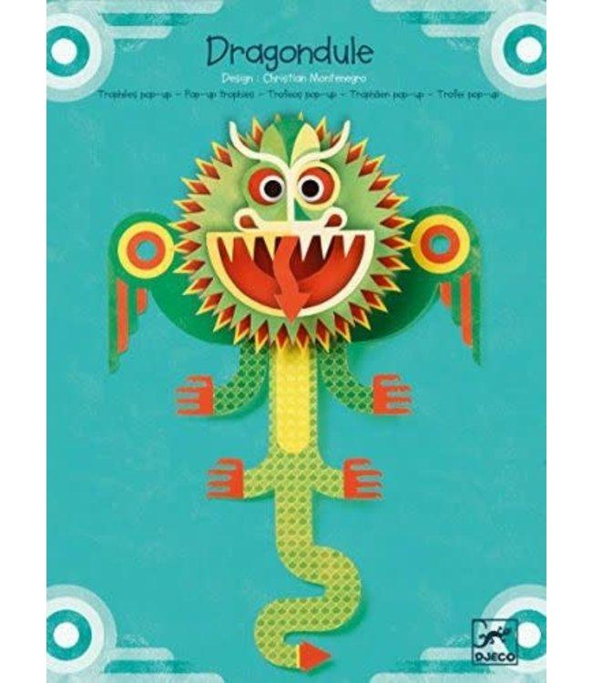 Djeco Pop-up Board Dragondule