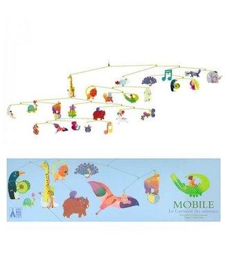 Djeco Djeco   Decoratieve Mobile   Le Carnival des Animaux
