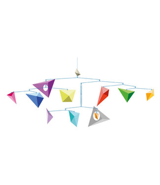 Djeco Djeco   Mobile   Kites   80 x 35 cm
