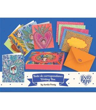 Djeco Djeco Lovely Paper Writing Box Aurelia Mix