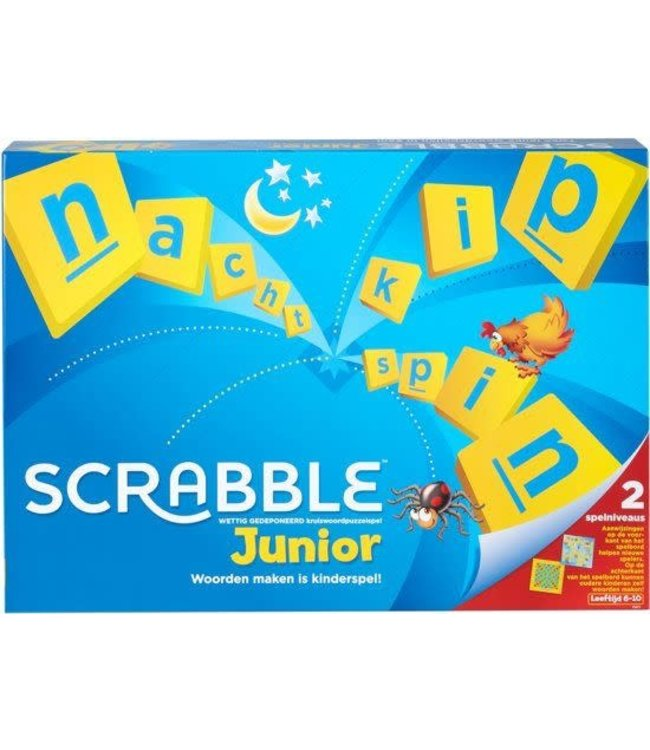 Mattel Scrabble Junior 6-10 jaar