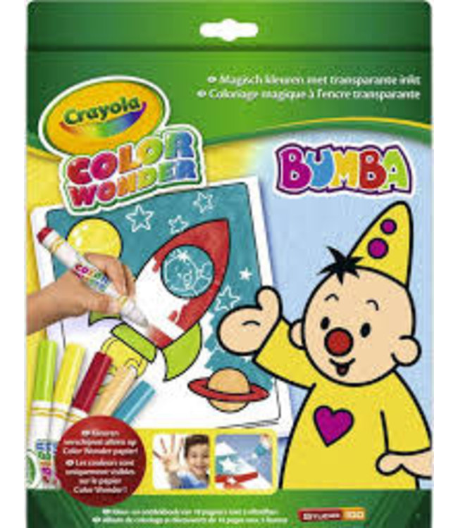 Crayola Color Wonder Box Bumba 3+
