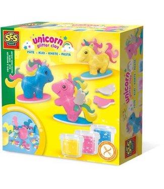 Ses Ses Unicorn Glitter Clay Klei Eenhorns 3+