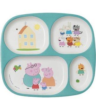 Petit Jour Petit Jour vakjesbord Peppa Pig  24 x 21 cm