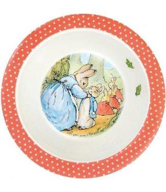 Petit Jour Petit Jour Schaaltje Peter Rabbit Stippen Rode Rand