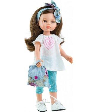 Paola Reina Paola Reina Pop Amigas Carol Zomer Blauw 32 cm