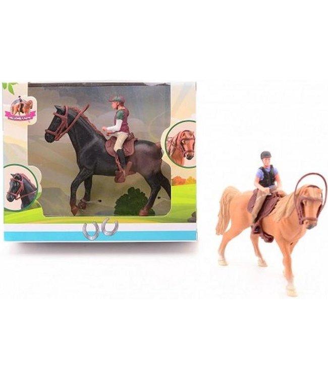 My Lovely Horse | Paarden Speelset | Ruiter met Paard | 3+