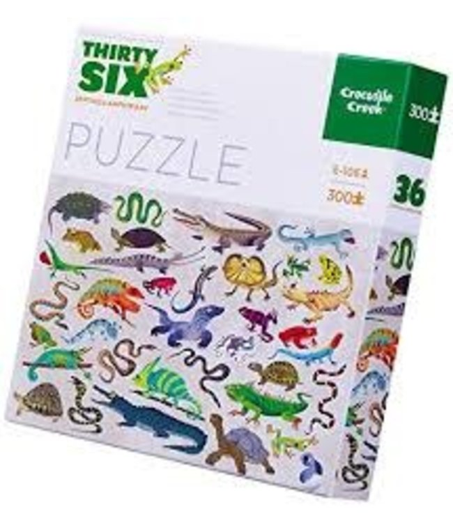 Crocodile Creek Puzzle Reptiles & Amphibians 300 pcs 8+