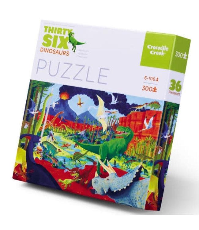 Crocodile Creek Puzzle Dinosaurs 300 pcs 8+