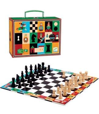 Djeco Djeco | Classic Games | Schaakspel in koffer| 6+