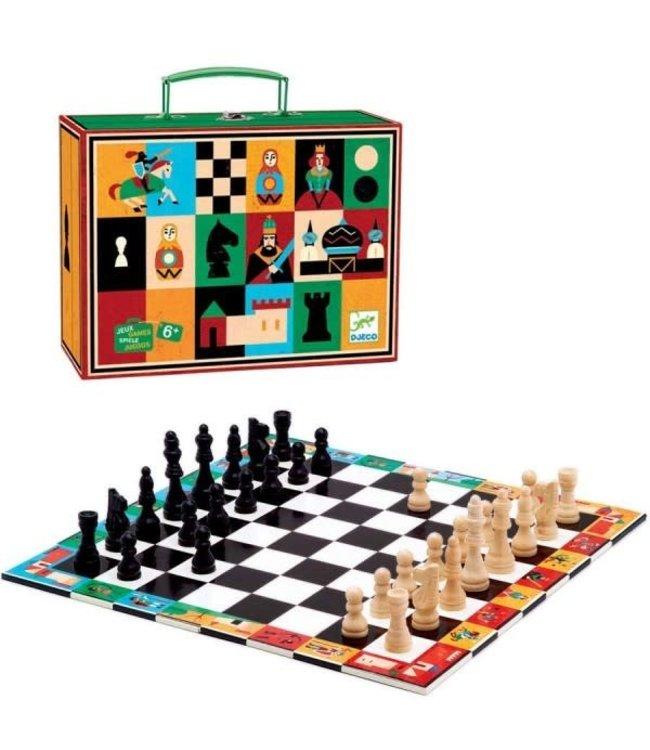 Djeco   Classic Games   Schaakspel in koffer  6+