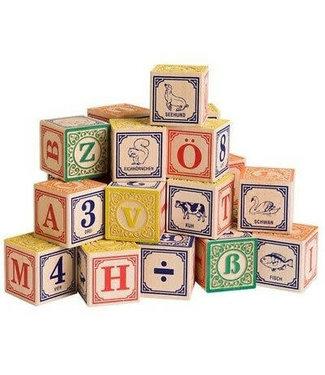 Alfabet blokken Danish ABC Blocks 2+