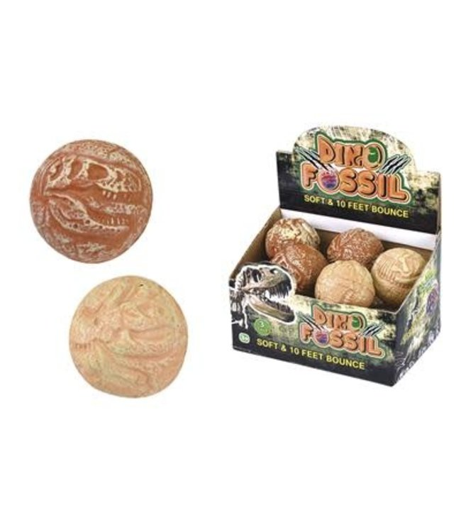 Tutti Frutti Squeezy Botsbal Dino Fossiel diam.7,5cm  3+