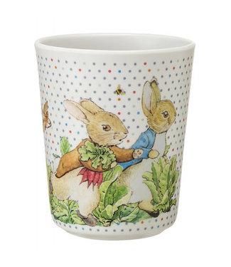 Petit Jour Petit Jour Peter Rabbit Lichte Stippen Serie Beker 7 x 8 cm