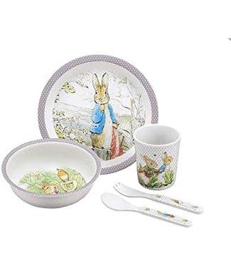 Petit Jour Petit Jour Peter Rabbit Giftset Box Taupe 5 pcs