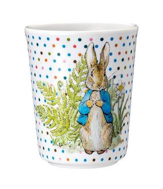 Petit Jour Petit Jour Peter Rabbit Dikke Stippen Serie Beker 7 x 8 cm