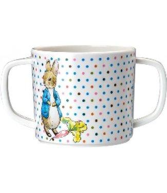Petit Jour Petit Jour Mok Met Twee Oren Peter Rabbit Stippen