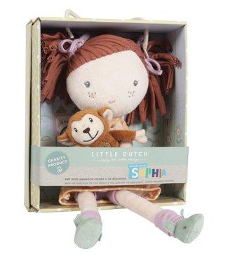 Little Dutch Little Dutch Stoffen Knuffelpop Sophia 35 cm 1+
