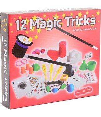 Johntoy Johntoy | Goocheltrucs in doos | 12 Magic Tricks | 5+