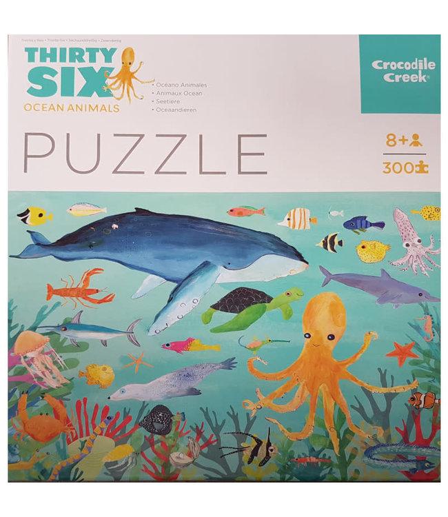 Crocodile Creek 300 pc Puzzle Ocean Animals 8+