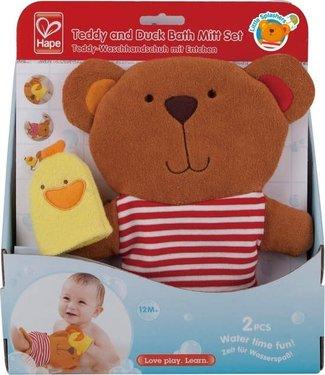 Teddy and Duck Bath Set 0+