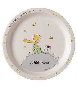 Petit Jour Petit Jour Little Prince White Serie Baby Plate 18 cm