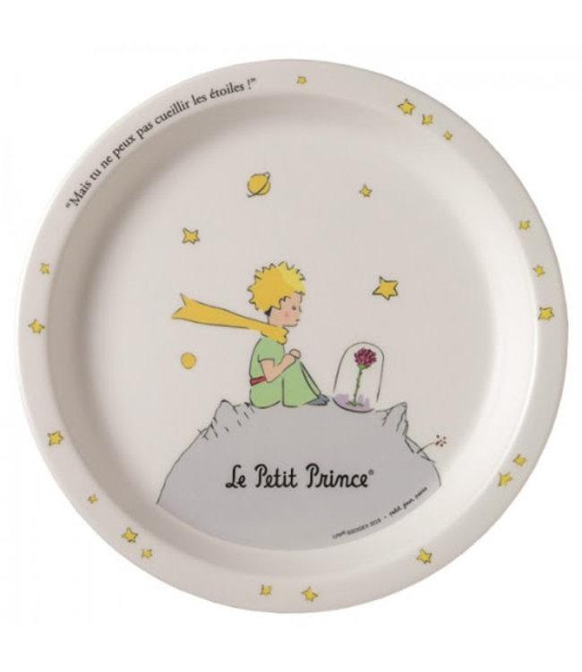 Petit Jour Little Prince White Serie Baby Plate 18 cm