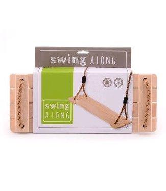 Johntoy Johntoy Schommelzitje Swing Along Hout 40 cm